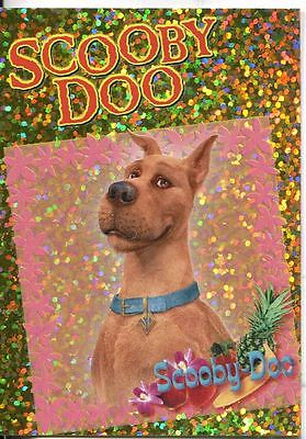 Scooby Doo The Movie Scooby Doo Sparkly Chase Card SP-5