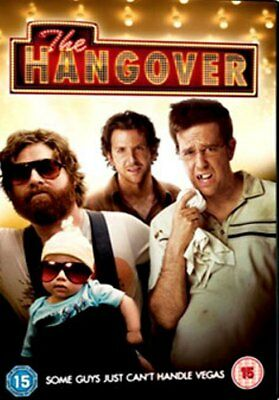 The Hangover 1 (Bradley Cooper, Zach Galifianakis) New DVD Region 2
