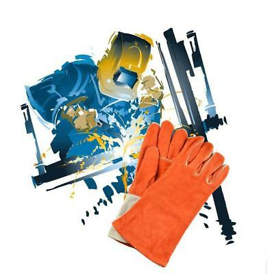 Electric Cowhide Welding Gloves Heat Resistant Gloves for Protecting Hand L/XL