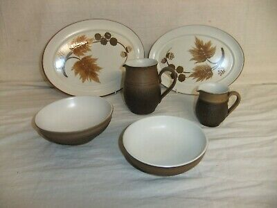 C4 Pottery Denby Cotswold Country Fayre (1973) 9C6G