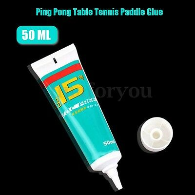 50ml Organic Table Tennis Water Solubility Bond Base Plate Glue wth 2 Sponge