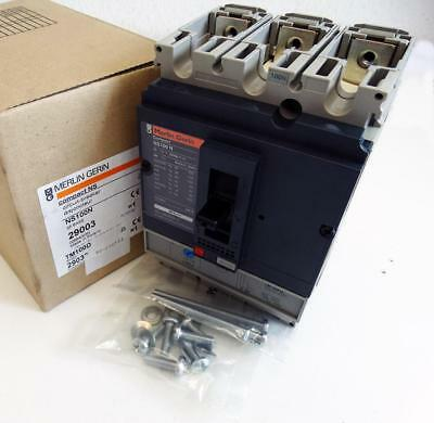 Merlin Gerin Compact NS NS100N  NS100 N 3P Base 29003 + TM100D 100A -unused/OVP-