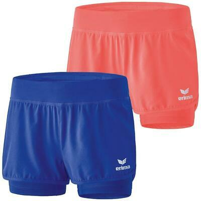 Erima MASTERS 2in1 Short Kinder Tennishose Tennis Hose Fitness Shorts Kids