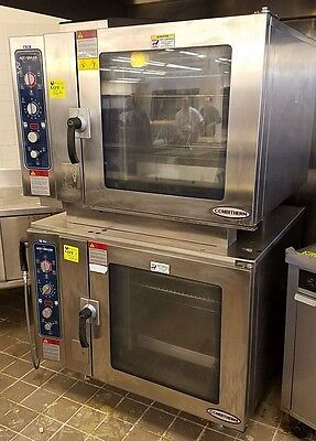 2009 Alto Shaam Double Stack Gas Combi Combitherm Oven Steamer Model 7.14ESG S