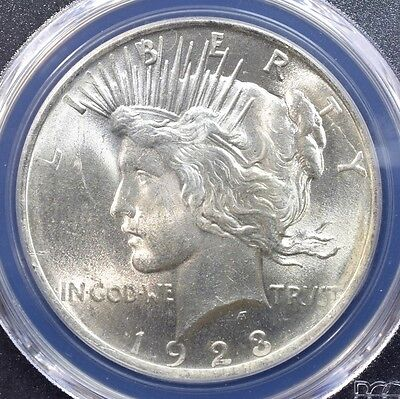 1923 Peace Dollar - PCGS MS63