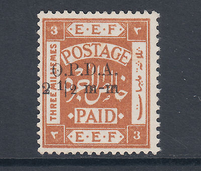 Palestine Bft 197 MNG. 1919 2½m on 3m for Fiscal Use under British Admin