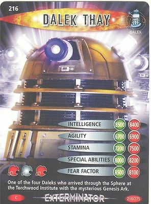 Doctor Who Battles In Time Exterminator #216 Dalek Thay