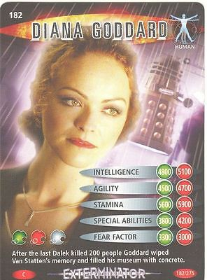 Doctor Who Battles In Time Exterminator #182 Diana Goddard