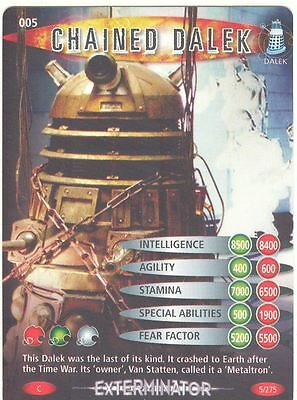 Doctor Who Battles In Time Exterminator #5 Chained Dalek