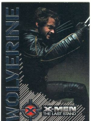 X Men 3 The Final Stand Wolverine Portrait Of A Hero Chase Card W7