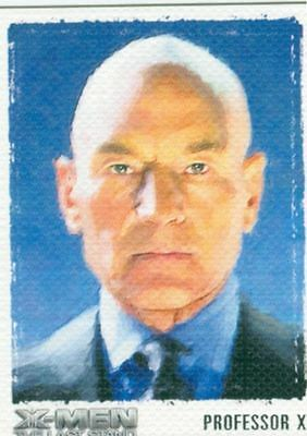 X Men 3 The Final Stand Art & Images Chase Card ART1 Professor Xavier