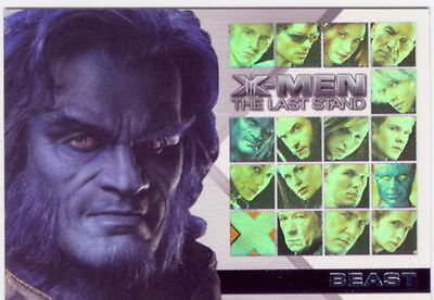 X Men 3 The Final Stand Casting Call Chase Card CC8 Kelsey Grammer as Beast