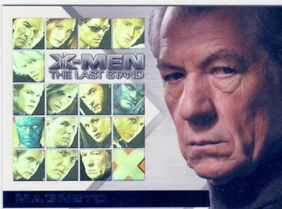 X Men 3 The Final Stand Casting Call Chase Card CC3 Ian McKellen as Magneto