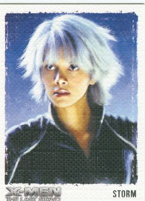 X Men 3 The Final Stand Art & Images Chase Card ART8 Storm