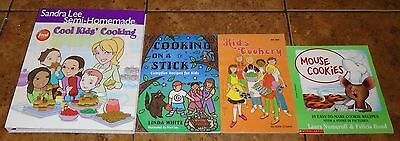 Children's Cookbooks Cook Books Sandra Lee Mouse Numeroff + LOT OF 5 Books