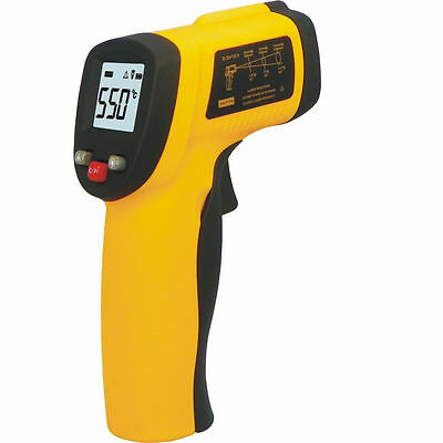Digital Surface Infrared IR Thermometer LCD Non-Contact Point -50°C ~ 330°C TE33