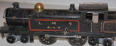 HORNBY SERIES O GAUGE CLOCKWORK No 2 SPECIAL TANK LOCO IN LMS BLACK LIVERY