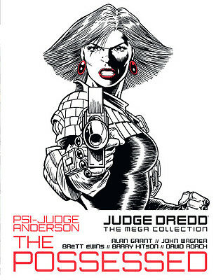2000AD ft JUDGE DREDD: THE MEGA COLLECTION - Part 08 ANDERSON - THE POSSESSED