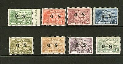 New Guinea O.s. Village Stamps