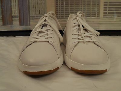 Men's Cole Haan Grand.Os Grandpro White Sneakers Size 10 M