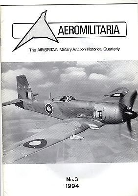 Air Britain Aeromilitaria 1994 No 3 Blackburn Firebrand
