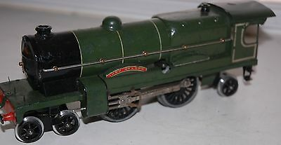 Hornby Series O Gauge Clockwork Lord Nelson Locomotive  In Southern Green Livery