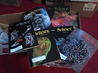 100+   vintage   SCIENCE back issue magazines 1995 - 1998 SUMMER READING