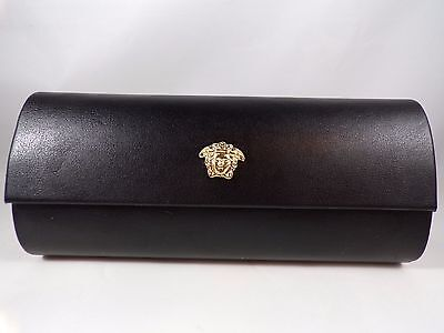 Versace® Medusa Black Sunglasses Case or Clutch - Flip Top / Magnetic Closure