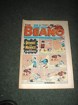BEANO COMIC No1890 OCT 7TH 1978 EXCELLENT CONDITION