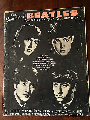 THE BEATLES - Australasian Tour Souvenir Album. Sheet Music Book
