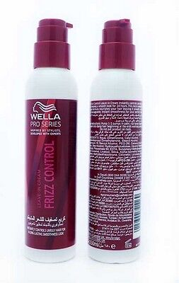 Wella Pro Series Frizz Control Leave In Cream 150Ml - Controls Unruly Hair