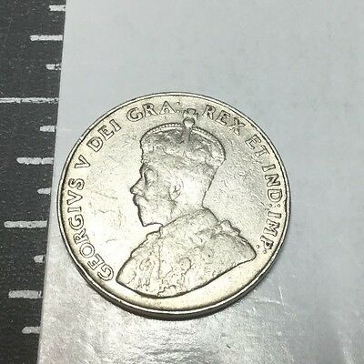 CANADA 1936 5 Cent coin Circulated