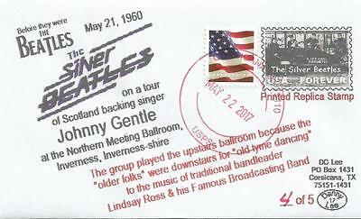 21 MAY '60 Silver Beatles on Johnny Gentle Inverness, Scotland Tour #4of5 Cover