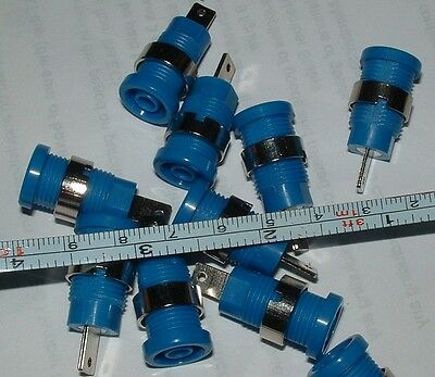 10 RS Components 4mm banana socket max 35 amps and takes shielded plugs 429-375