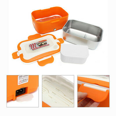 Portable Car Truck Electric Heating Lunch Box Food Warm Heater Storage Container