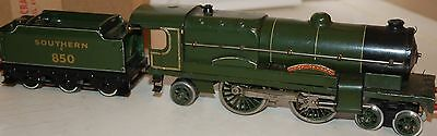 Hornby Series O Gauge Clockwork Lord Nelson Locomotive And Tender Boxed