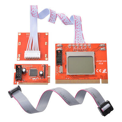 Diagnostic Post Test Card For Laptop PCI/ Mini PCI LPC with Double Screen AC540