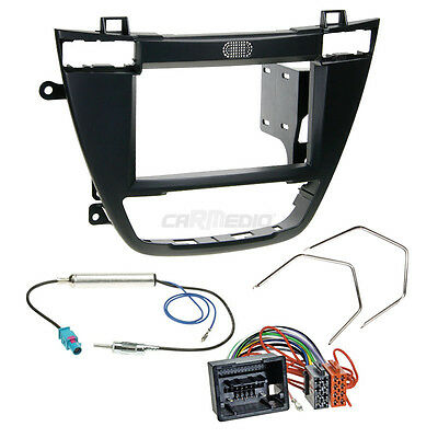 Opel Insignia 08-13 2-DIN Car Radio Installation Set+Cable,Adapter,