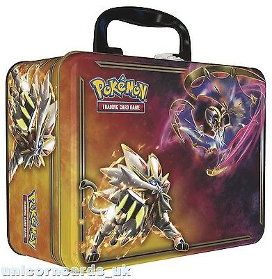 Pokemon TCG: Spring 2017 Collector Chest :: Lunala vs Solgaleo :: Brand New And