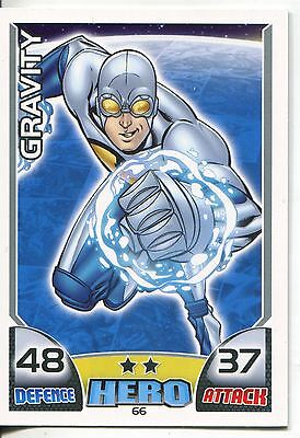 Marvel Hero Attax Series 1 Base Card #66 Gravity