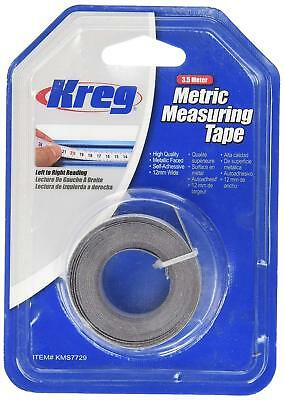 Kreg Self-Adhesive Measuring Tape Metric 3.5m Left to Right Reading 990177