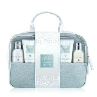Baylis & Harding Jojoba Silk and Almond Oil Toiletry Bag Gift Pack FREE P&P