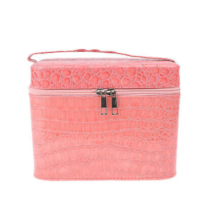 Travel Cosmetic Beauty Train Vanity Case Makeup Toiletry Washing Storage Box Bag