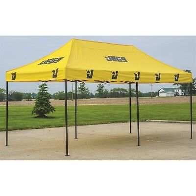 JEGS Performance Products 2010 Eazy Up Canopy Outside Dimensions: 20 L X 10 W In
