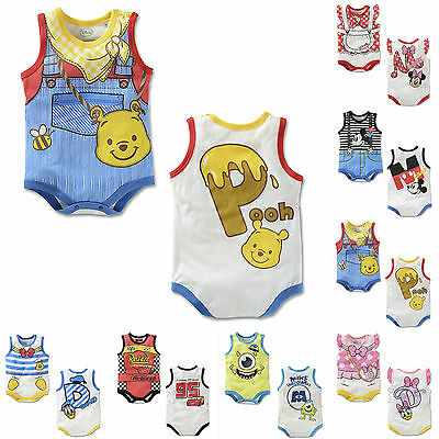 Summer Kids Baby Romper Jumpsuit Bodysuit Boys Girl Sunsuit Outfit Clothes 1-18M