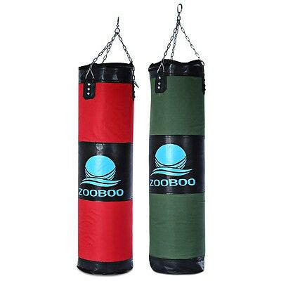 Hot! Heavy Punch Bag Kick Boxing Bag Thai Training Hanging Punching Pads Hollow