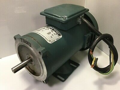 Reliance T56S1005A TPR TEFC DC Electric Motor 1/2HP 1750RPM 90V 5.2A *TESTED