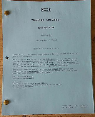 Ncis Tv Series Show Script Episode Double Trouble Mark Harmon