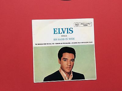 Elvis Presley-Original Ep From Australia-His Hand In Mine