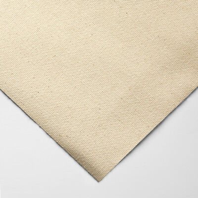 Jacksons : 339g (10oz) Unprimed Cotton Duck Canvas : Medium Grain : 183cm Wide :
